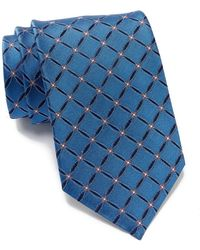 BOSS - Silk Circle Lattice Tie - Lyst