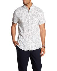Sovereign Code - Kelso Patterned Short Sleeve Regular Fit Shirt - Lyst