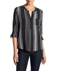 Joie - Oden Striped Silk Top - Lyst