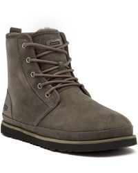 UGG - Harkley Pure(tm) Lined Waterproof Boots - Lyst