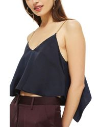 TOPSHOP | Chain Strap Camisole Top | Lyst