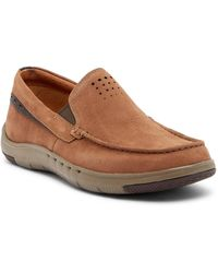 Clarks - Unmaslow Easy Nubuck Loafer - Wide Width Available - Lyst