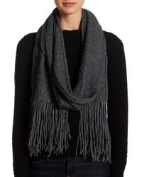 Skull Cashmere - Willow Wool & Cashmere Blend Fringe Scarf - Lyst