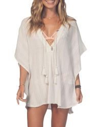Rip Curl - Soaking Sun Cover-up Tunic - Lyst