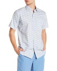 Peter Millar - Seaside Sailboat Regular Fit Shirt - Lyst