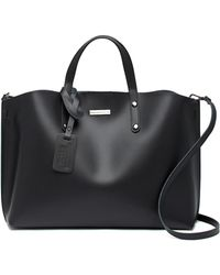 Luisa Vannini - Leather Tote Bag - Lyst