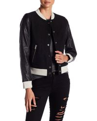 Doma Leather | Blondie Genuine Suede Bomber Jacket | Lyst