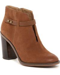 cc58003581b Lyst - Born Kyndra Wide Width Leather Boot in Black