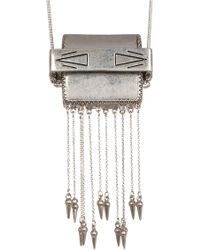 House of Harlow 1960 - Ayita Satchel Pendant Necklace - Lyst