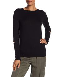 Michael Stars - Elbow Slit Long Sleeve Tee - Lyst