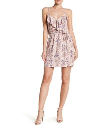 Mimi Chica - Floral Wrap Dress - Lyst