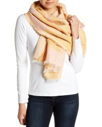 Madewell - New Forms Stitched Scarf - Lyst