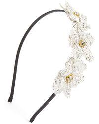 Tasha - Floral Headband - Lyst