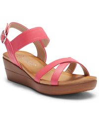 Elegant Footwear - Gasina Wedge Sandal - Lyst