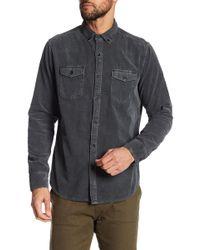 Jeremiah - Jaymes Pigment Corduroy Shirt - Lyst