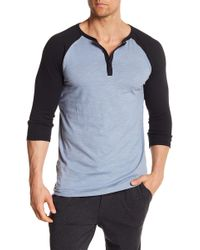 Unsimply Stitched - 3/4 Length Sleeve Baseball Tee - Lyst