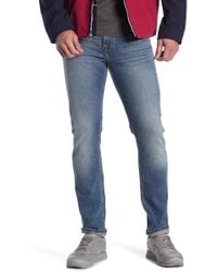 7 For All Mankind - Paxtyn Slim Straight Jeans - Lyst