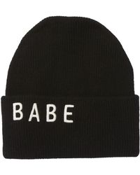 Skull Cashmere - Scout Embroidered Babe Cashmere Beanie - Lyst