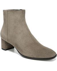 037fbe2d148 Via Spiga - Women s Vail Almond Toe Mid-heel Booties - Lyst