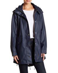 London Fog - Solid Slicker Rain Jacket - Lyst