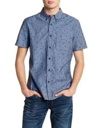 AG Jeans - Print Standard Fit Shirt - Lyst