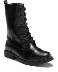 Dirty Laundry - Rolanda Cap Toe Combat Boot - Lyst