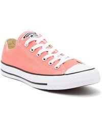 Converse Chuck Taylor Carnival Pink Canvas Sneaker (Unisex) axXiYB