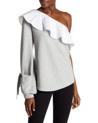 W118 by Walter Baker - Marge One Shoulder Top - Lyst
