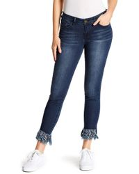 William Rast - Skinny Ankle Jean Jr. - Lyst