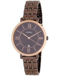 Fossil - Women's Jacqueline Bracelet Watch, 36mm - Lyst