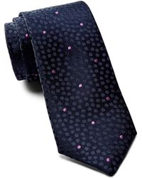 Ted Baker - Tonal Space Dot Silk Tie - Lyst