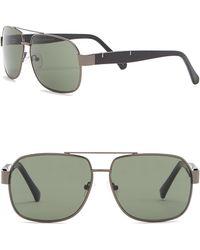 Vince Camuto - Navigator Metal Frame Sunglasses - Lyst