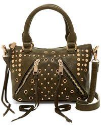 Moda Luxe - Abigail Faux Leather Studded Satchel - Lyst