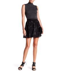 Michael Stars - Silk Sequin Skirt - Lyst