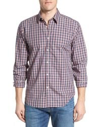 Jeremy Argyle Nyc - Fitted Plaid Sport Shirt - Lyst