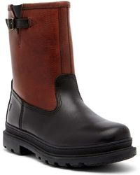 Frye | Riley Genuine Shearling Lined Waterproof Leather Boot | Lyst