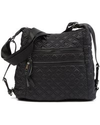Sondra Roberts - Convertible Quilted Nylon Tote Backpack - Lyst