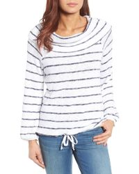 Caslon - Convertible Off The Shoulder Pullover (regular & Petite) - Lyst