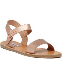 e461f522191 Lyst - Steve Madden Bodhi Platform Ankle Strap Sandal in Purple
