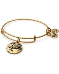 ALEX AND ANI - Aries Expandable Bangle - Lyst