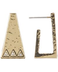 House of Harlow 1960 - Pyramid Cuff Stud Earrings - Lyst