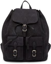 Rebecca Minkoff - Alice Nubuck Leather Backpack - Lyst