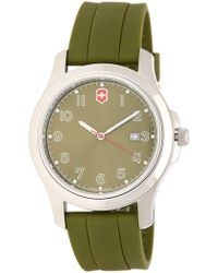 Victorinox - Men's Garrison Elegance Strap Watch, 40mm - Lyst