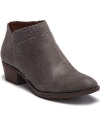 Lucky Brand - Brintly Leather Ankle Bootie - Lyst