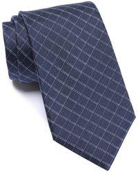 Vince Camuto - Gregorio Grid Silk Tie - Lyst