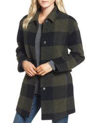 Pendleton - Paul Bunyan Plaid Wool Blend Barn Coat - Lyst