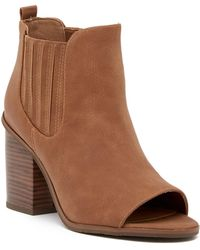BC Footwear - Breezy Open Toe Bootie - Lyst