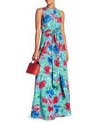 Eva Franco - Clarissa Printed Maxi Dress - Lyst