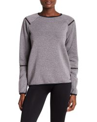 Bench - Meshtape Crew Neck Sweater - Lyst