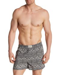 Lucky Brand - Printed Boxers - Lyst